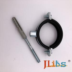 China Carbon Steel / ALU Pipe Clamp Fittings , Thickness 1.5mm / 2.00mm on sale