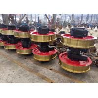 China Investment Casting Crane Wheel Assembly , Forged Alloy Wheels For Crane on sale