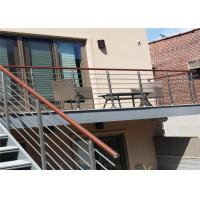CE Stainless Steel Balustrade Systems Porch Stair Railing End Cap House Railing