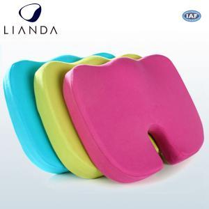 China New Coccyx Orthopedic Comfort Foam Seat Cushion, Memory Foam Mat on sale