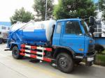 2019s new Dongfeng 153 4*2 RHD 10cbm  sewage suction truck for sale, factory sale best price dongfeng sludge tank truck