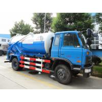 2017s new Dongfeng 153 4*2 RHD 10cbm  sewage suction truck for sale, factory sale best price dongfeng sludge tank truck