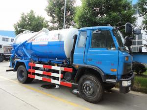 China 2017s new Dongfeng 153 4*2 RHD 10cbm  sewage suction truck for sale, factory sale best price dongfeng sludge tank truck on sale