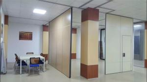 China Aluminum Decorative Movable Acoustic Partition Wall Interior Position on sale