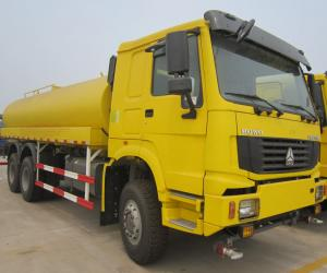 China Sinotruk Howo 6x4 20 Cubic Meters Watering Cart Sprinkler Truck for sale on sale