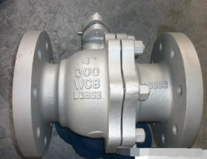 China ANSI 300LB Flanged Ball Valve , API608 Carbon Steel Floating Type Ball Valve on sale