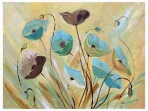China impression modern flower art painting on sale