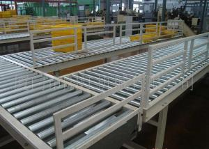 China Steel Flexible Roller Conveyor Systems Power Retractable Roller Line Labor Saving on sale