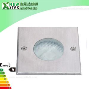 China 3W 24V Waterproof RGB Inground LED Light with 304 Stainless Steel on sale