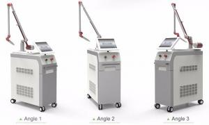 China Painless gentle yag laser 1064 nm / 532nm pigments tattoo removal machine q switched on sale