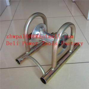 China Laying cables in ducts  Cable guide and roller stand on sale
