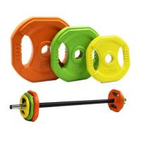 China China Best Fitness equipment kit body barbell set for crossfit on sale