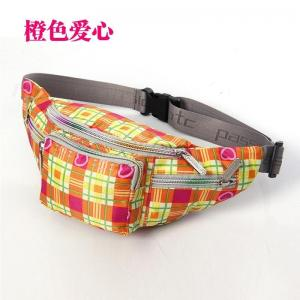 China Colorfull printed casual waist band bag ,oxford Travel Pouch sports bags cheap on sale