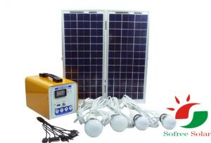 China Mini solar home system/off-grid solar power system on sale