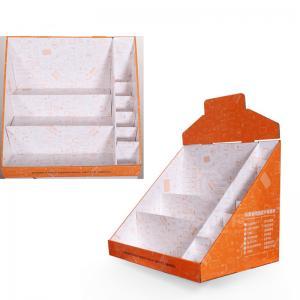 China Vapes Pantone Printing Corrugated Cardboard Displays Super Market Paper Display Box on sale