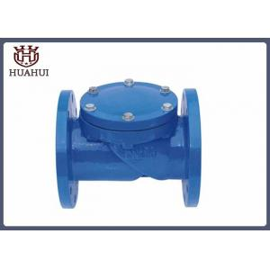 China Double Flanged Swing Type Check Valve , EPDM Disc Double Check Valve For Water on sale
