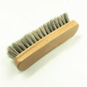 China Beech Wood Horse Hair Animal Hair Brushes / Bed Cleaning Brush on sale