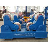 China Standard 10T Pressure Vessel Vessel Turning Rolls / Pipe Rotators For Welding on sale
