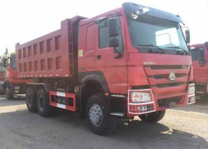 China Low Fuel consumption Heavy duty Sinotruck Howo 6x4 dump truck in Affordable Price on sale
