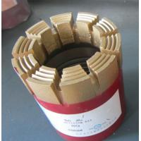 NQ Rock Drill Bits for geological drilling Bottom Discharge Diamond Core Drill Bit