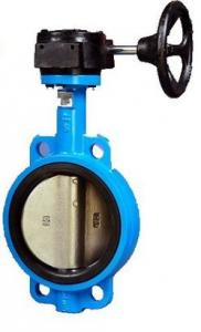 China Wafer Style Carbon Steel Butterfly Valve with Worm Gear NPS 2-48 Class150-300 on sale