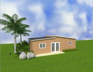China Australian Portable light steel Granny Flats Inexpensive Modular Homes / Prefab Small Houses on sale