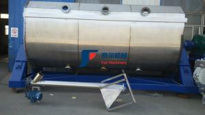 China Professional Horizontal Ribbon Mixer / Powder Ribbon Blender Machine on sale
