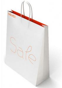 China White Paper Bags for Evens & Trade Fairs on sale