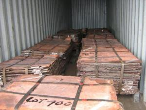 China COPPER CATHODE Plate 99.99%  Red Copper 12*914*914mm on sale