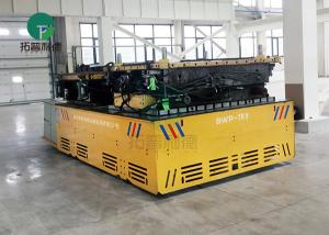 China Large Capacity Battery Driven Steerable Towed Mold Transfer Truck With Remote Control on sale