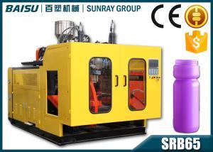 China High Efficiency Automatic PE Plastic Bottle Blow Molding Machine 1100 Pcs / Hour on sale