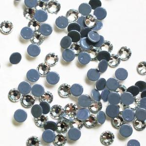 China SS10 Crystal Rhinestones Glass Cut Flat Back Glue On on sale