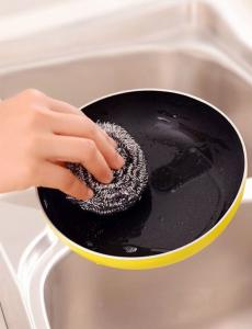 China 17 years manufacturers for household hot stainless steel clean SCOURER/SCRUBBER Top rank on sale