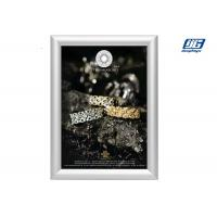 China Customized Size Silver Coloar Aluminum Snap Open Frame Poster Display Case on sale