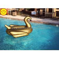 6P Fire Retardant Material Water Inflatable Golden Swan 190*190*130cm