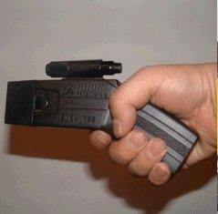 Quality Terminator 5M long-range anti-riot 5M shooting pocket taser stun gun for sale