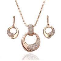 African wedding bridal gold plated jewelry set