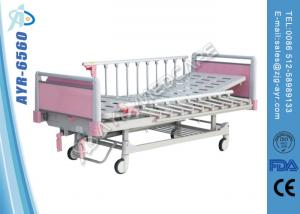 China Two Functions Manual Pediatric Medical Hospital Bed For Children on sale
