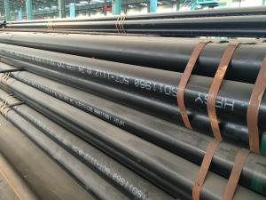 China FBE Coated Seamless Carbon Steel Pipe Black Steel Pipe For Thermal Equipment on sale