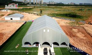 China Hot Sale Curved Shape Permanent Sport Tent for Football Court from Liri Tent on sale