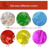 Different color gel wax for making gel wax candles