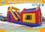 La diapositiva inflable comercial durable con la casa/los niños inflables al aire libre resbala con diseño profesional