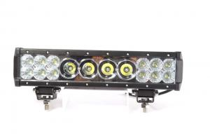 China 14 Inch Cree Led Light Bar 76W Middle 10W LED Beside 3W LED 6080 Lumen on sale