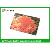 Colorful Printed Dining Table Placemats Anti Slip OEM / ODM Available 45X30CM