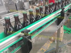 China Glass Bottle Automatic Bottle Filling Machine / Beer Bottling Machine Line on sale