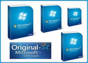 microsoft windows 7 professional retail box 32&64 bit