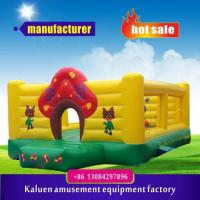 Inflatable Fun Bouncy House, kids bouncy castle,four meters pvc inflatable castle,inflatable park