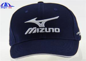 69d7077daa46d ... Quality 6 Panel Cotton Custom Embroidered Hats Golf Baseball Cap With  Mizuno Logo for sale ...