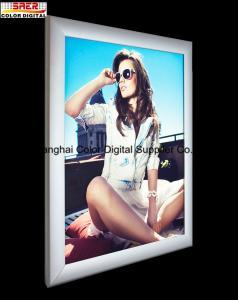 China Aluminum Frame Rectangle LED Acrylic Light Box with  50000 Hours Life on sale
