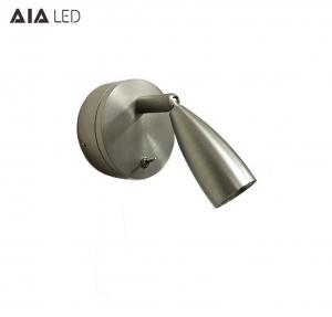 China Wall mounted headboard wall light led bedside wall light 3W & led reading wall light for hotel on sale